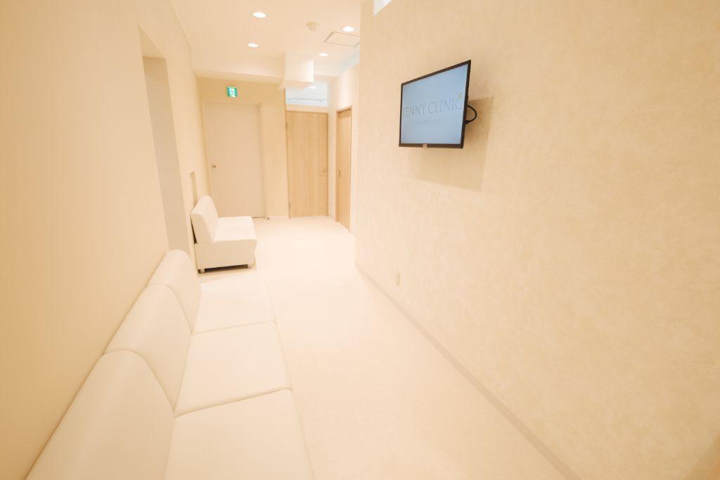 メンズジェニー渋谷院_ウェイティングスペース