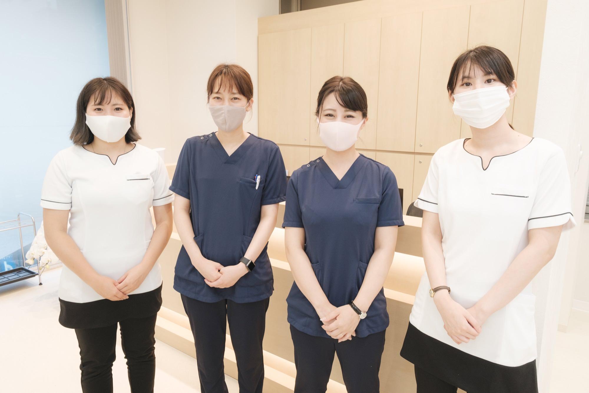 医療資格を持つ熟練のスタッフが患者様のご来院をお待ちしております